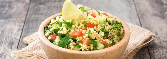 Kapha-Pacifying Recipe: Seaweed & Baby Kale Tabouli