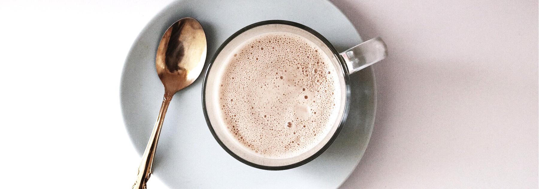 Vitality Latte Recipe with Shatavari and Ghee