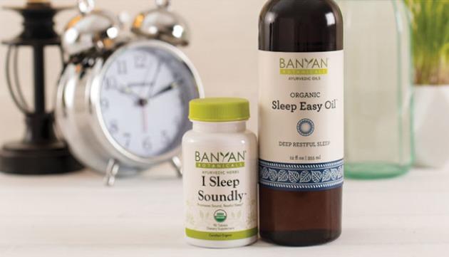 Herbal Support for Deep Sleep