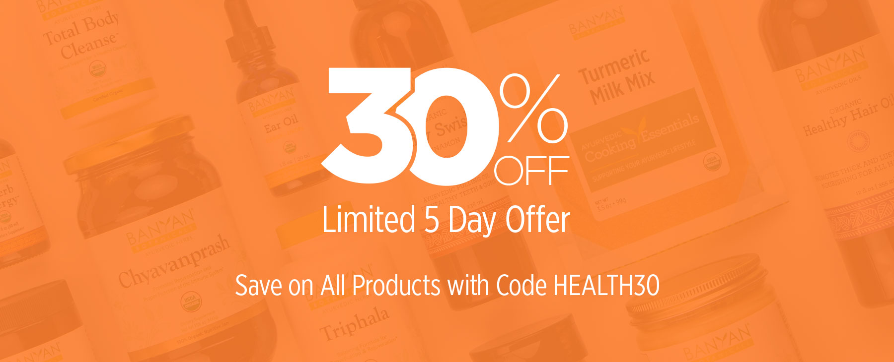 30% Off! Limited 5 Day Offer—Save on All Products
