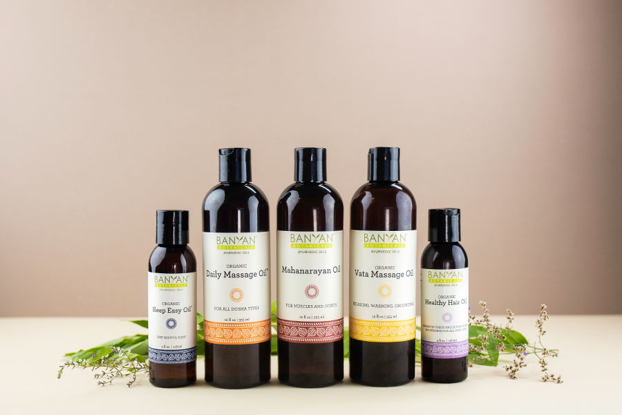 Massage and Herbal Oils