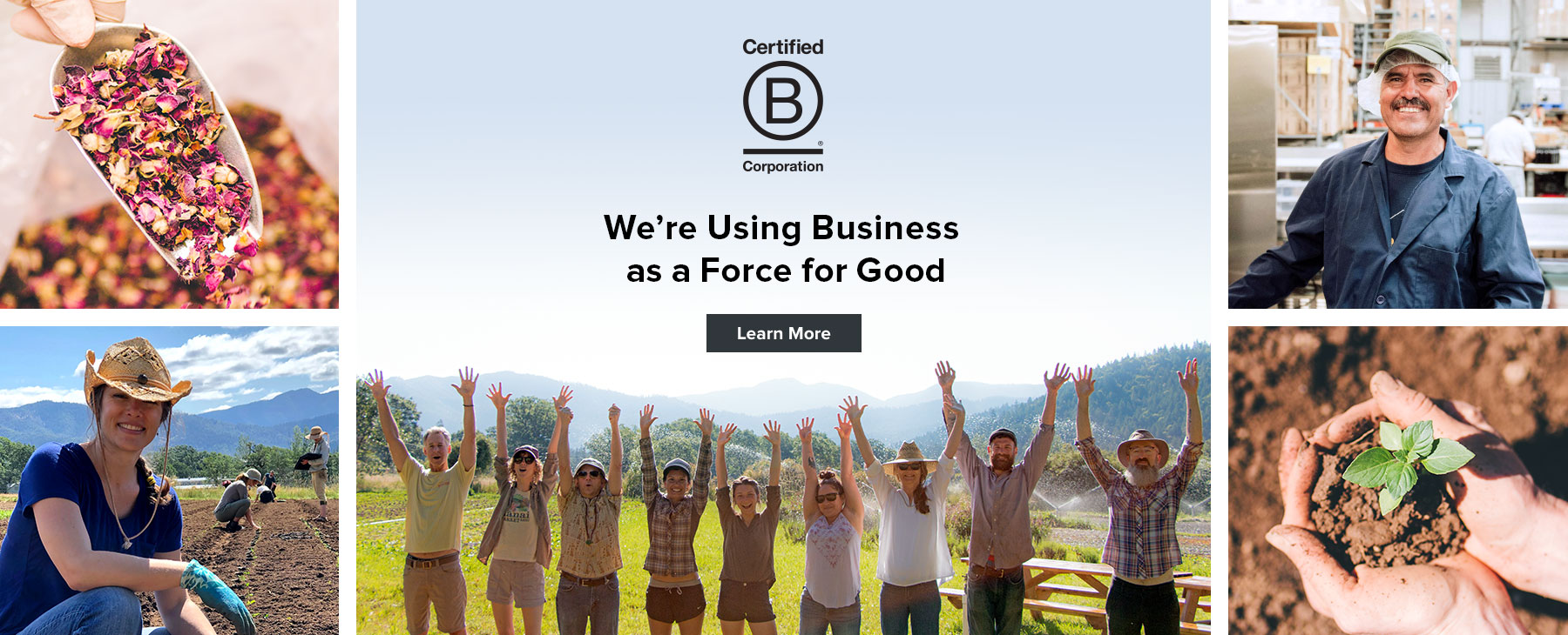 Banyan Botanicals announces its B Corporation Certification, joining over 2,000 socially responsible companies using business as a force for good.