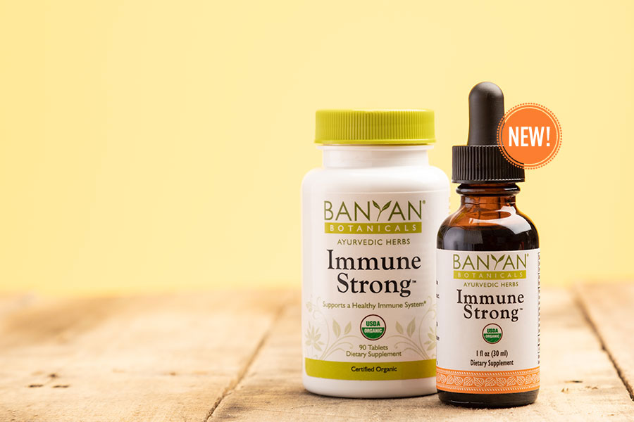 new Immune Strong products