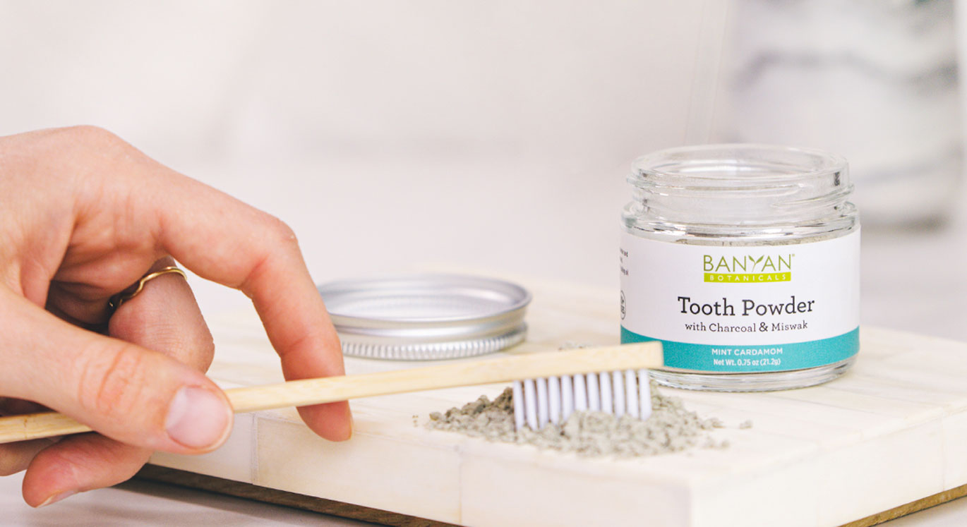 Tooth Powder With Miswak and Activated Amalaki Charcoal